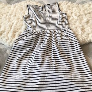 Jcrew stretchy strip dress